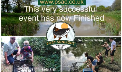 Our Free Two Day Family Fishing Festival on our Idyllic Fireman's Pool was a great success