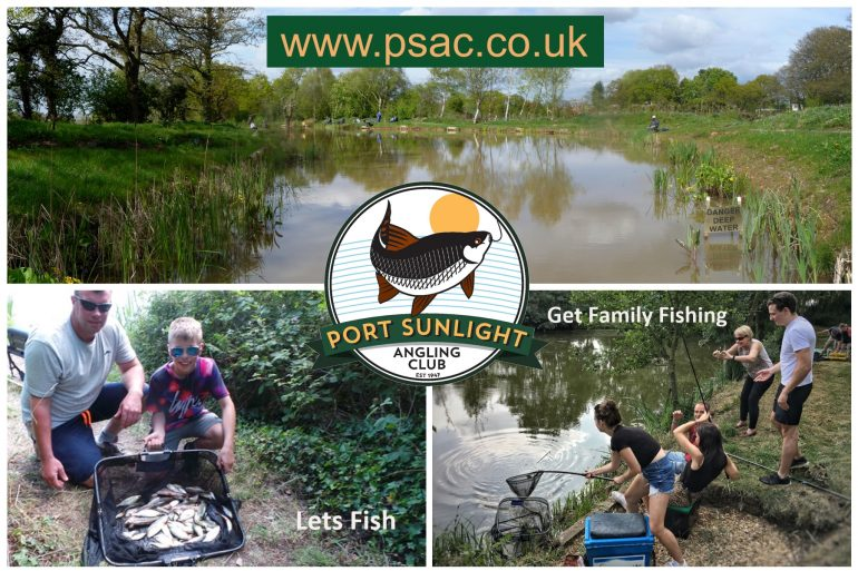 Port Sunlight Angling Club are excited to announce a Free Two Day Family Fishing Festival on our Idyllic Fireman's Pool, Hooton Road on Friday 31st May and Saturday 1st June 2019