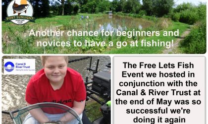 Lets Fish Event on 6th August