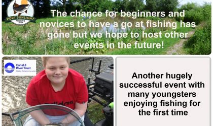 Lets Fish Event on 6th August was a Great Success!!